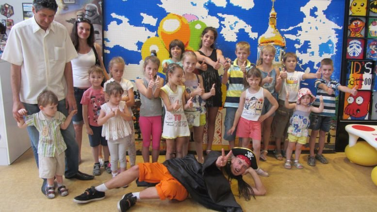 "Parents are grateful to ""Luganske zemliatstvo"" for fulfillment of their children's desires"
